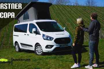 2021 Bürstner Copa - Kompakter CamperVan auf Ford Transit Custom Basis - Konkurrenz für den VW Cali