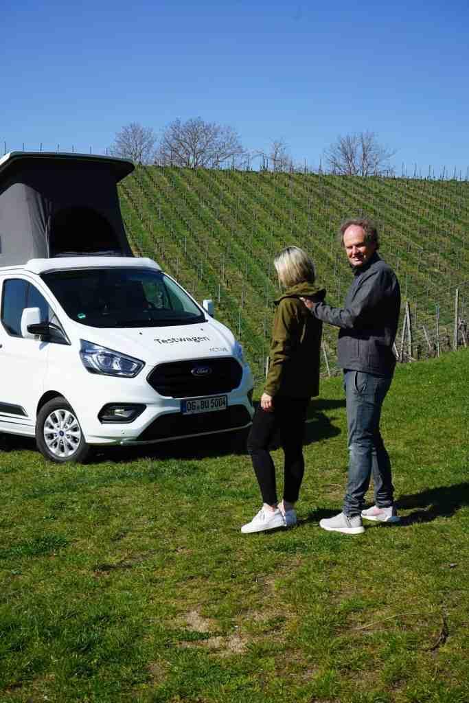 Bürstner Copa - Neuer CamperVan auf Ford Transit Basis, NinaCarMaria