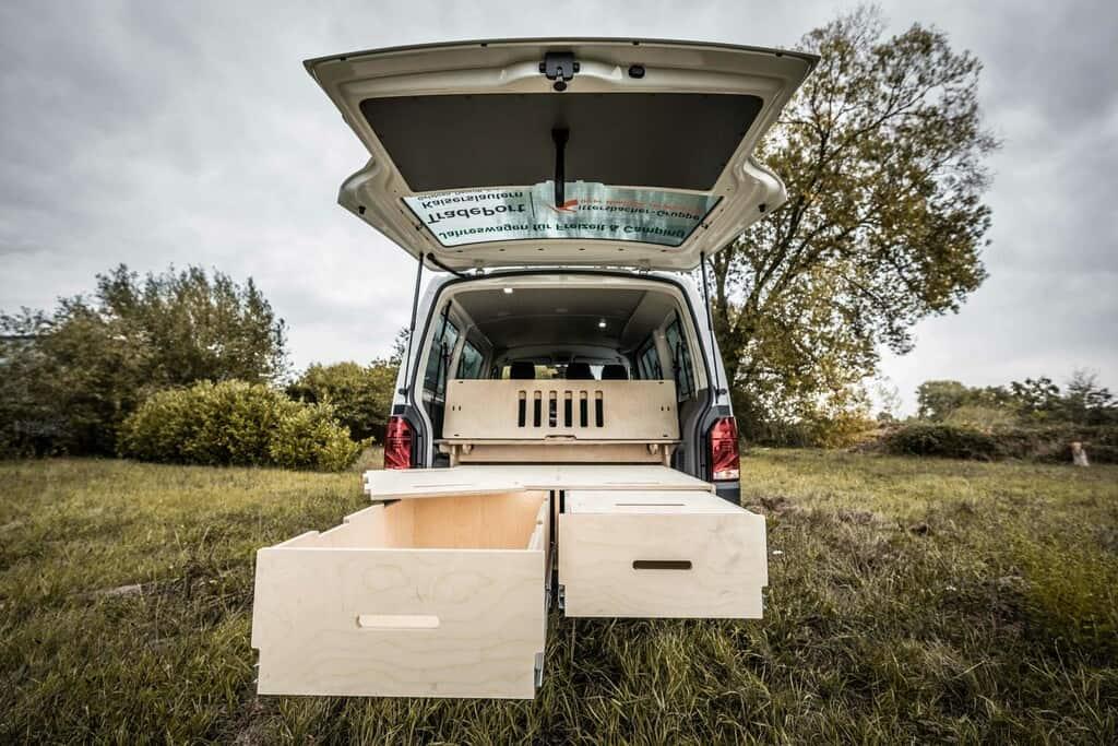 Campingbus selbstgemacht:  Beim Ausbau hilft der Baumarkt
