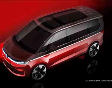 VW T7 Designskizze