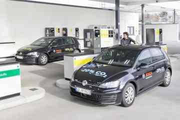 Der Blue Gasoline soll 20 Prozent weniger CO2 ausstoßen.