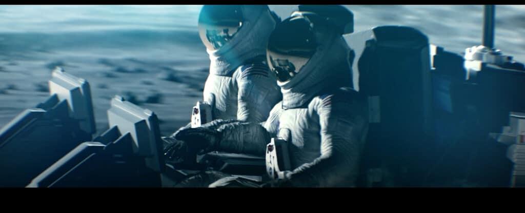 Animation des Lunar Terrain Vehicle (LTV) von GM und Lockheed Martin.