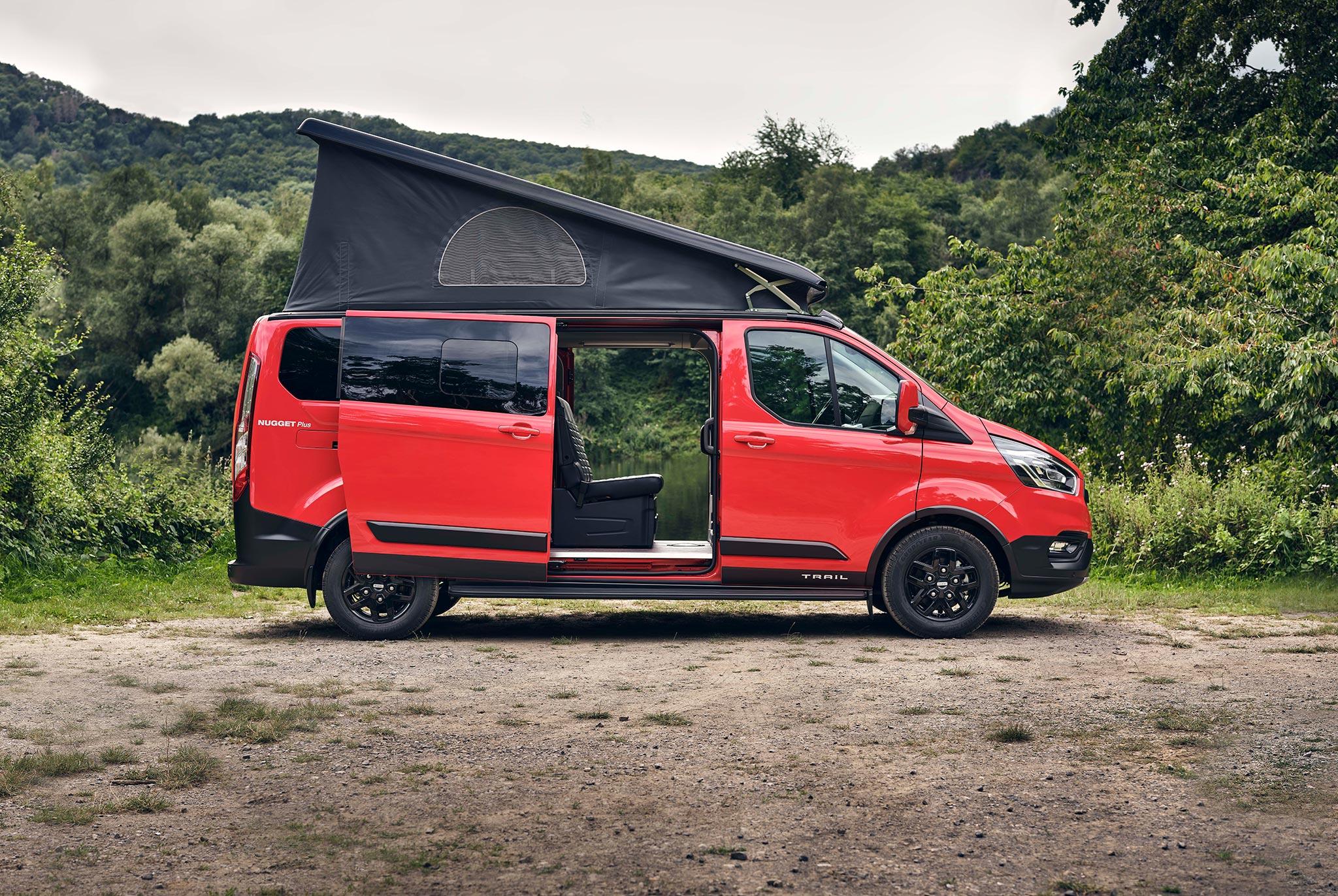 Ford stellt Nugget Camper Active und Trail vor