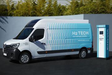 Hyvia stellt Master Kastenwagen mit H2-Tech mit Brennstoffzelle vor