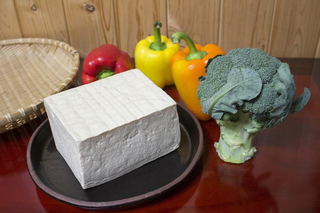So lecker sieht Tofu aus (solange man nicht reinbeisst).