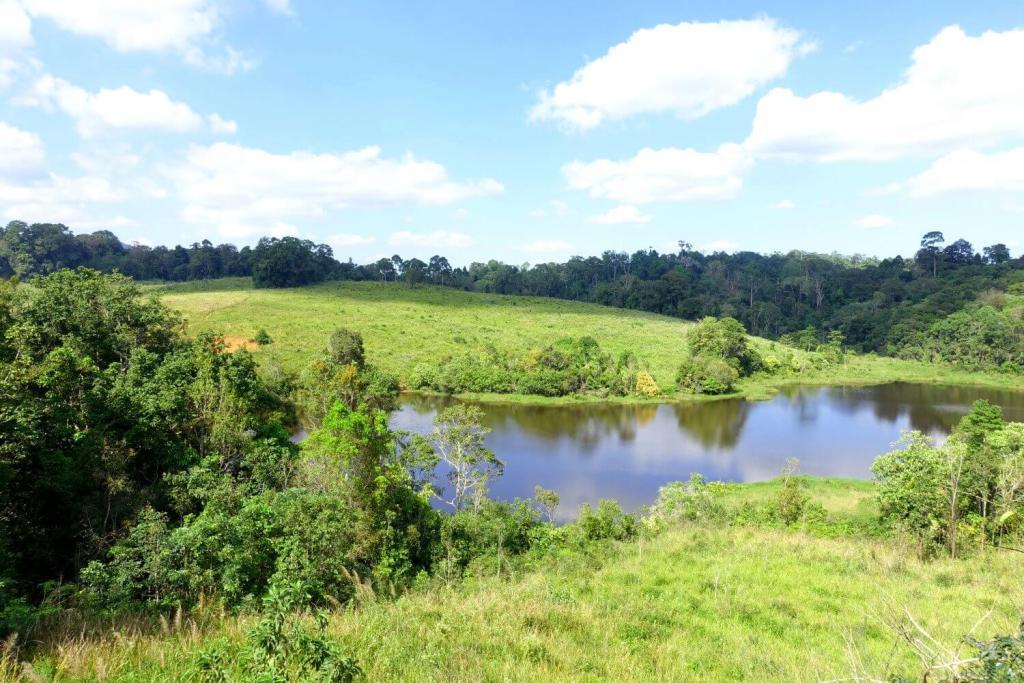 Ausblick auf einen der Flüsse im Khao Yai.