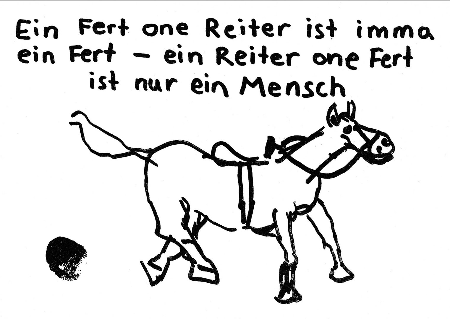 Fert Ohne Reiter