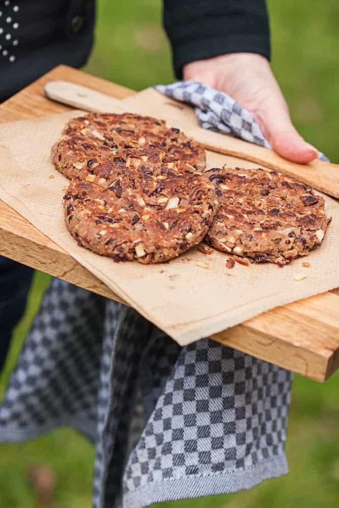 Burger vegan grillen