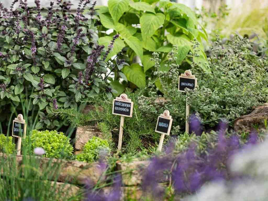 Pflanzenschilder wetterfest Garden Girl