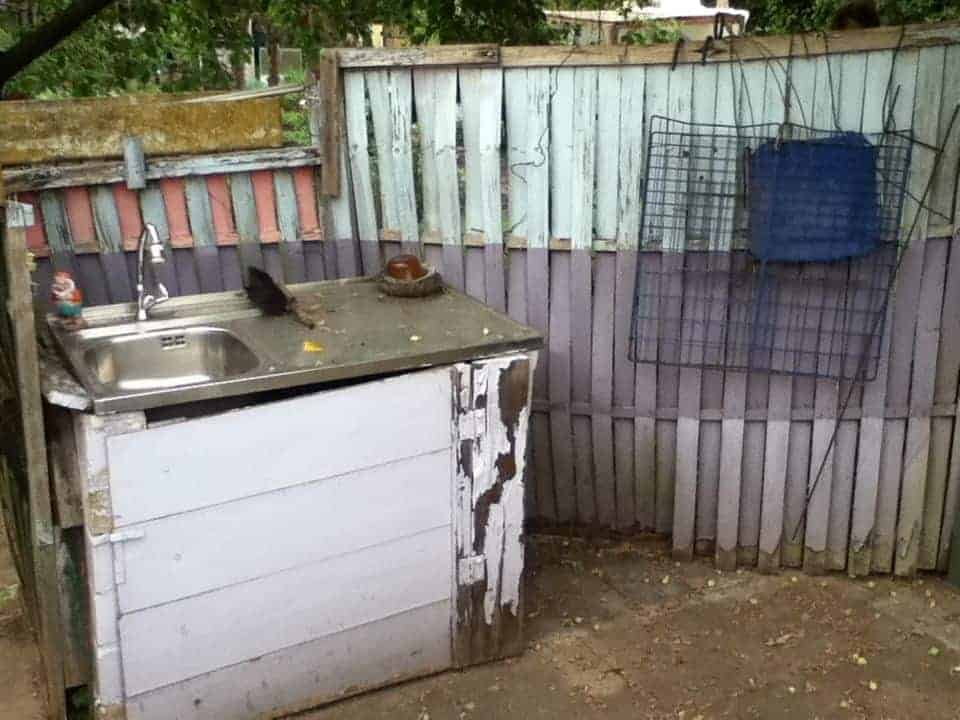 Sichtschutz im Garten so bitte nicht