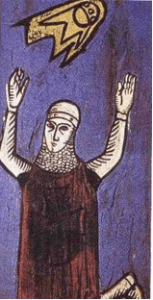 UFO im Mittelalter