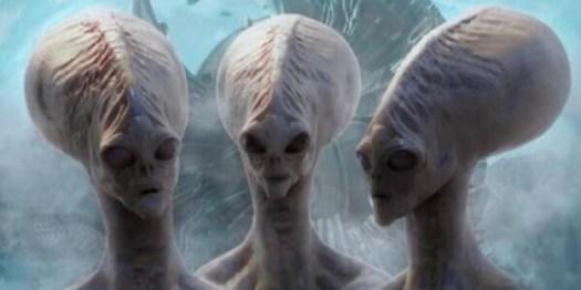 Außerirdische haben auch nur zwei Beine