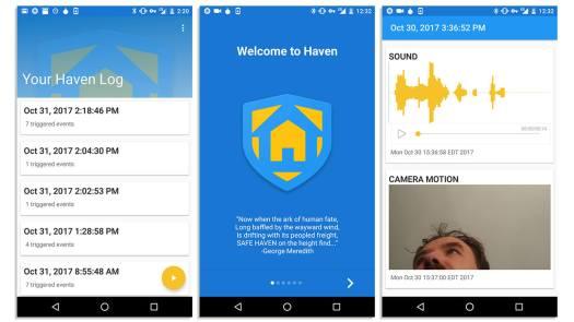 Haven Security App