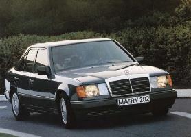 der mann und sein auto - der mercedes benz w124