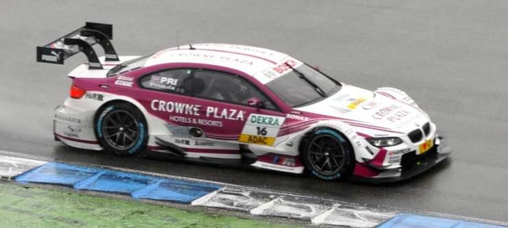 Andy-Priaulx belegt den zwanzigsten Platz mit seinem BMW M3 DTM, Team RMG