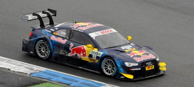 Jamie Green belegt den elften Rang mit dem Audi RS 5 DTM, Abt Sportsline
