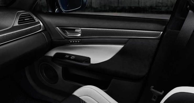Lexus GSF Innenraum Tür Detail