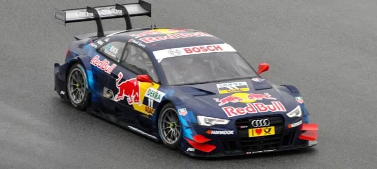 Mattias Ekström wurde im Audi RS 5 DTM, Team Abt Sportline, Siebenter