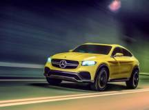 Shanghai 2015 – Mercedes zeigt das Concept GLC Coupé