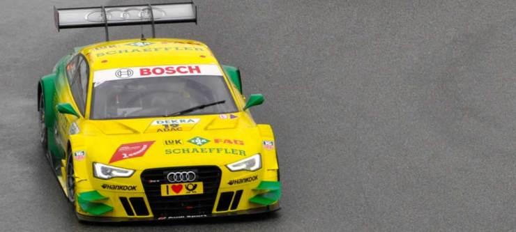 DTM-Meister Mike-Rockenfeller im Audi RS 5 DTM, Team Phoenix