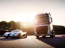 Volvo FH vs. Konigsegg ONE:1
