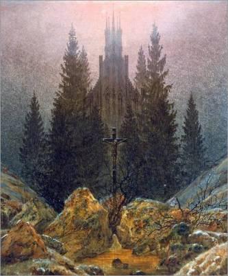 poster-das-kreuz-im-gebirge-171647-1