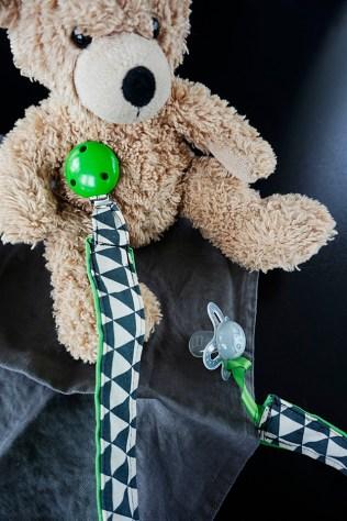 Schnullerkette DIY Teddy