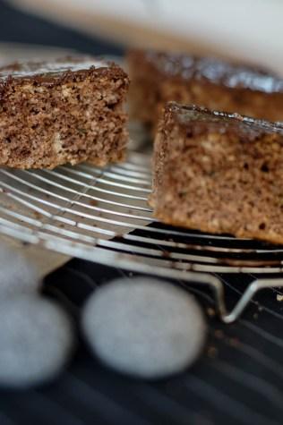 Zuchini Kuchen mit Schokolade-11