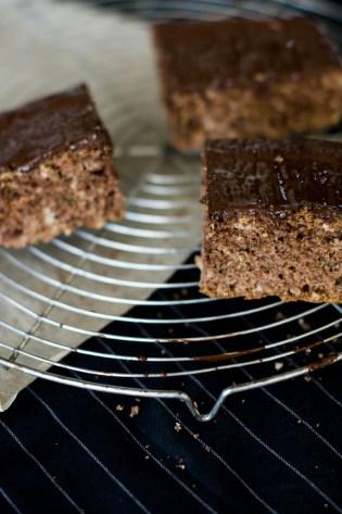 Zuchini Kuchen mit Schokolade-6