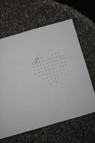 DIY Karte Sticken Valentstag Herz-2