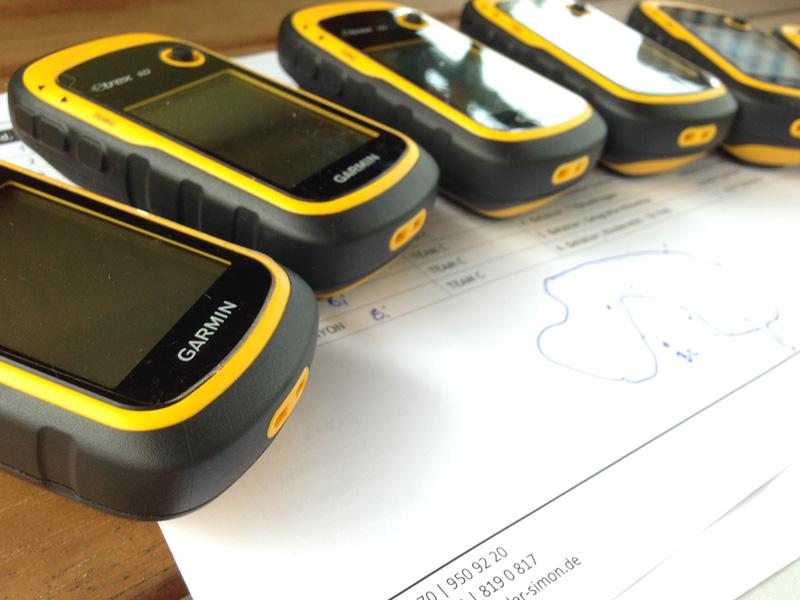 GPS-Tour rund um den Wald.