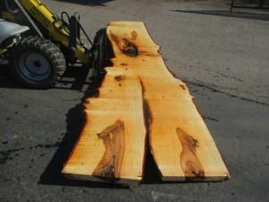 Tischplatte nach mass Kastanie B-00105