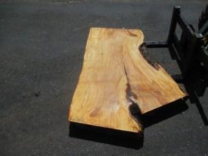 Tischplatte nach mass Kastanie B-00201