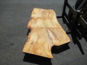 Tischplatte nach mass Kastanie B-00204