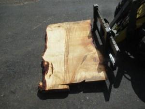 Tischplatte nach mass Kastanie B-00210