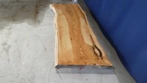 Tischplatte aus Massivholz Esche C/W 001