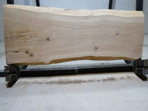 Tischplatte aus Massivholz Eiche C/W 087