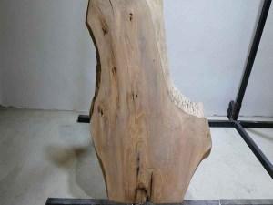 Tischplatte aus Massivholz Esche C/W 092