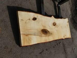 Tischplatte nach mass Kastanie B00340