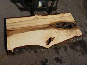 Tischplatte nach mass Kastanie B-00355