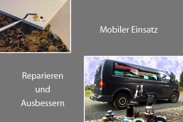 Mobiler Einsatz - Ausbessern - Reparieren
