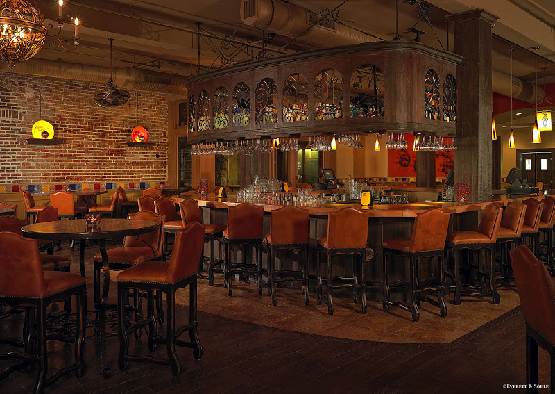 Ember inside bar and seating