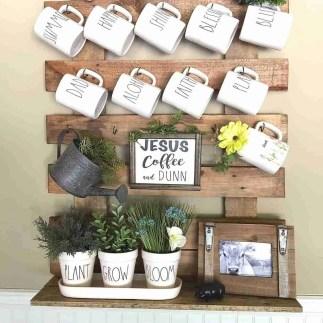 DIY Mug Rack