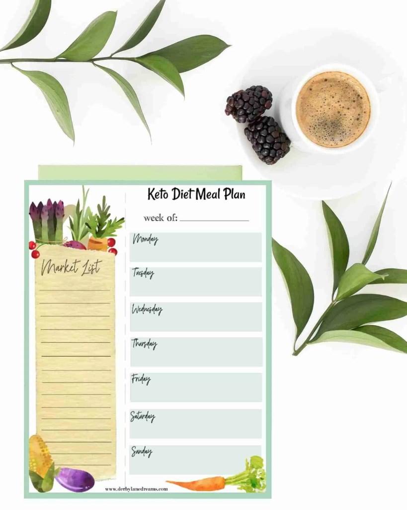 Keto Diät und Rezepte für Anfänger
