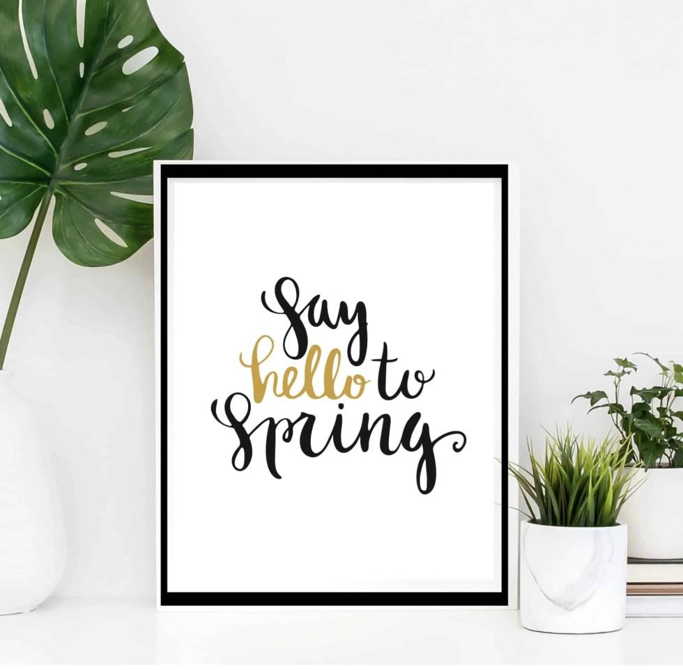 봄을위한 주택 개선