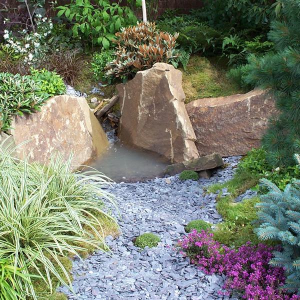 slate garden landscaping Blue Slate Chippings 20mm | Landscaping, Specialised