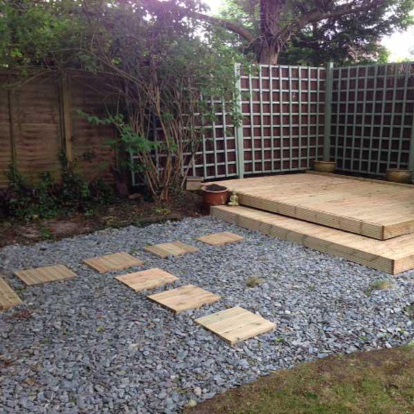 slate garden landscaping Blue Slate Chippings 40mm | Landscaping, Specialised