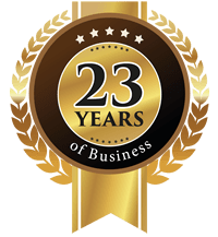 23 years in business