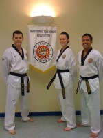 TTA Derby first black belts