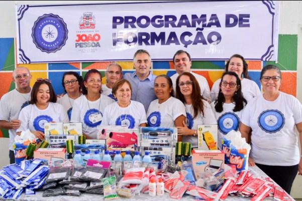 PMJP entrega novos equipamentos para cursos profissionalizantes dos CRCs